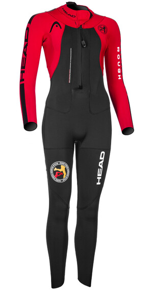 Head ÖTILLÖ Swimrun Rough Suit Women Black/Red